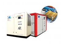 Oil Free Screw Air Compressor for Electronics Industry