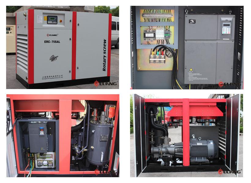 El compresor VSD de accionamiento directo