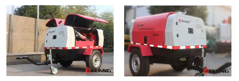 Elang Diesel tragbarer Kompressor