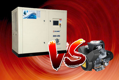 Oil-free Screw Air Compressor VS Oil-free Piston Compressor