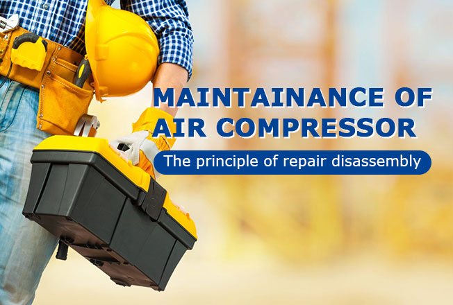 maintainance of air compressor