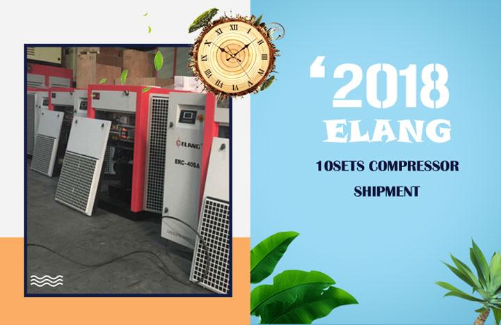 Elang 10sets Compresseur Expédition