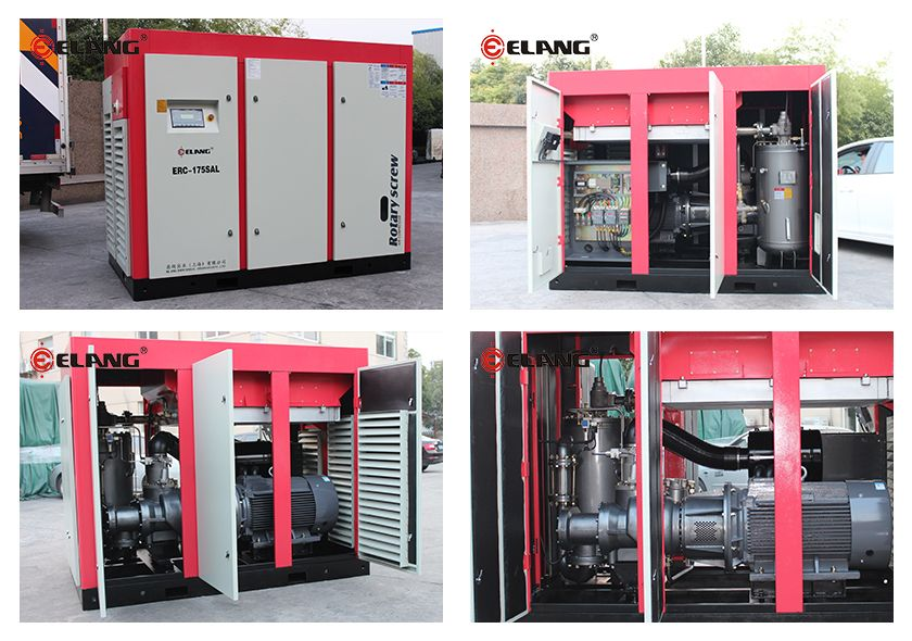 Direct Driven Screw Compressor